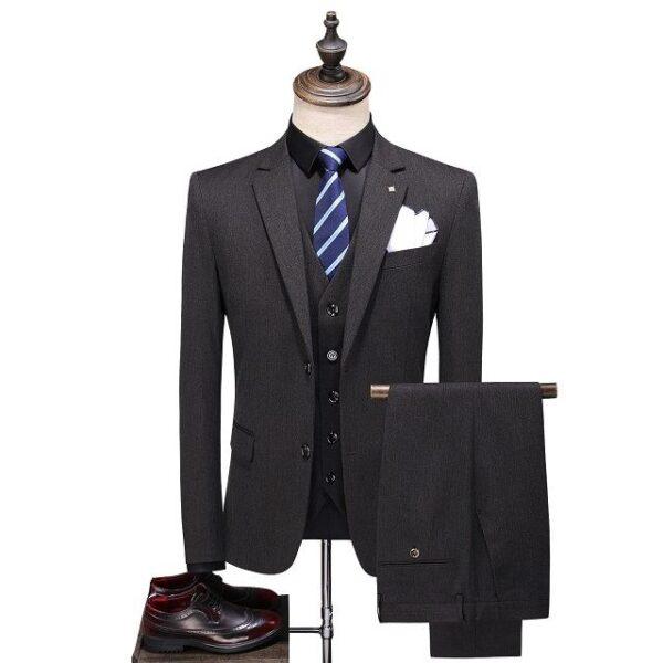Costume homme noir mode